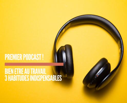 Mon premier podcast Mon Agenda Bien Etre