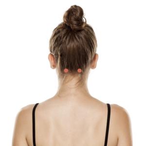 point acupression nuque pour soulager mal de tête